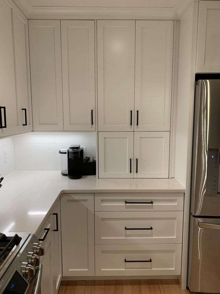 Eudora Semi Custom White Full Access Full Overlay Kitchen 2