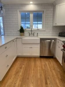 Eudora Semi Custom White Full Access Full Overlay Kitchen