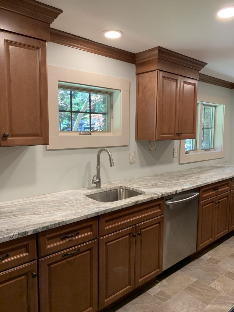 Dean Cabinetry Fabuwood Stock Hallmark Framed Full Overlay Kitchen 2