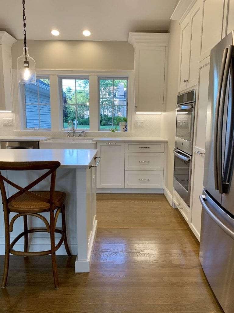 Dean Cabinetry John Dean Custom Cabinetry White Full Access Full Overlay Kitchen-1