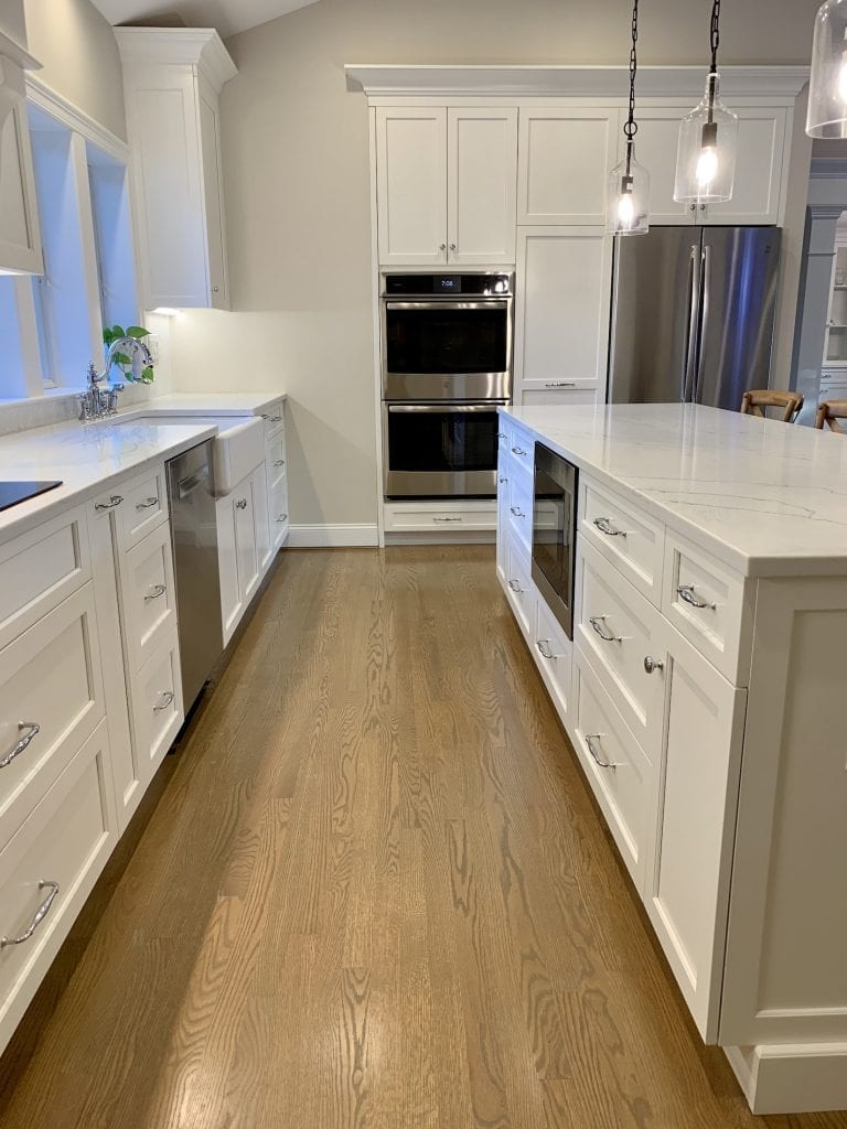 Dean Cabinetry John Dean Custom Cabinetry White Full Access Full Overlay Kitchen-3