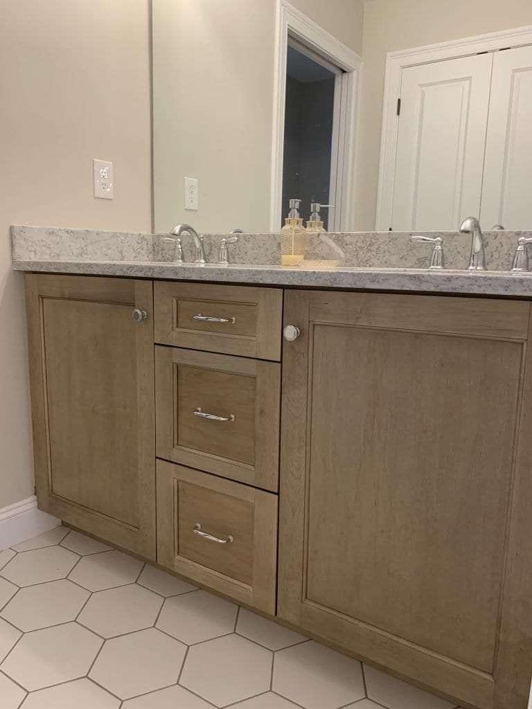 Dean Cabinetry John Dean Custom Cabinetry White Full Access Full Overlay Kitchen-Vanity-2