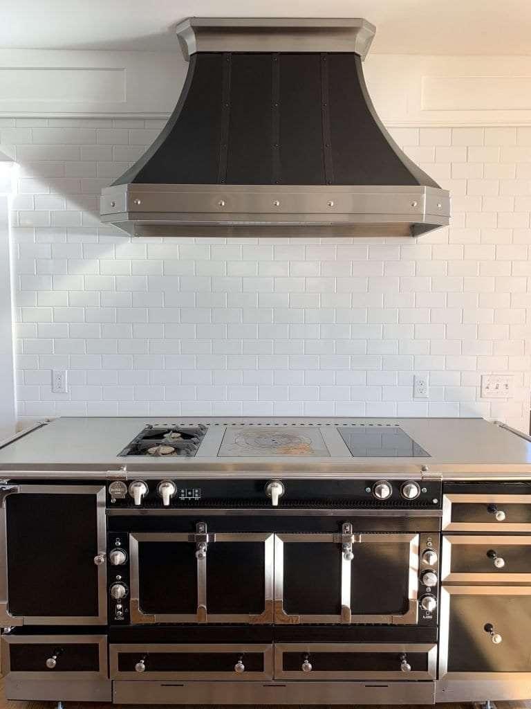 Dean Cabinetry John Dean Custom Cabinetry White Inset Kitchen Lacornue Range