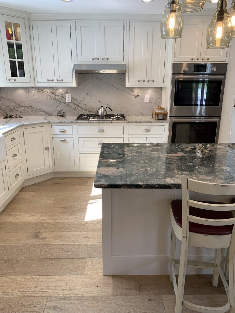 Dean Cabinetry Showplace Semi Custom Off White Inset Kitchen 2