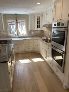Dean Cabinetry Showplace Semi Custom Off White Inset Kitchen