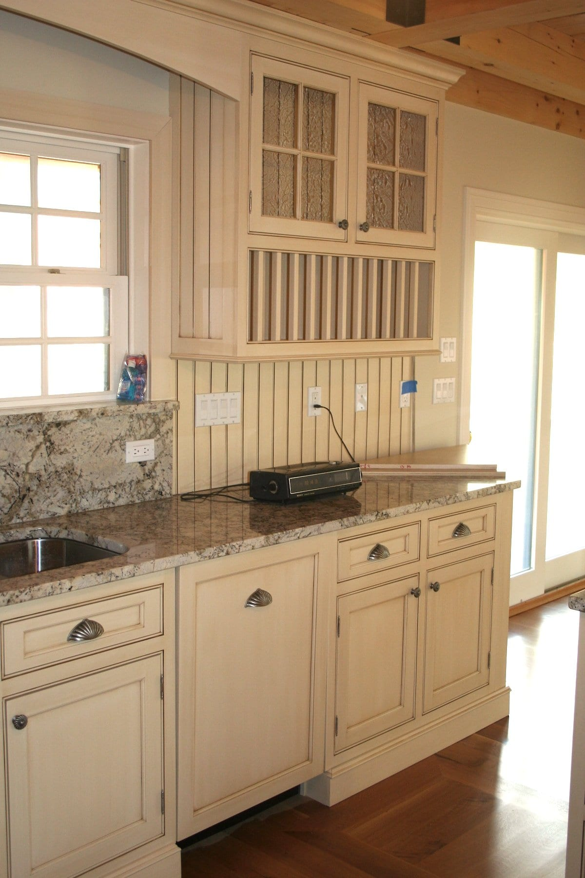 John Dean Custom Cabinetry Off White Beaded Inset Kitchen Dean Cabinetry
