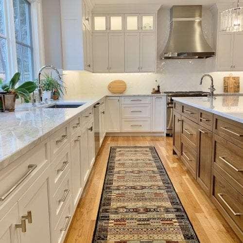 Dean Cabinetry John Dean Custom Cabinetry White Full Access Full Overlay Kitchen Carpet